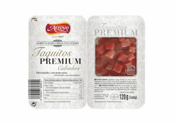 Jamón en Taquitos Premium
